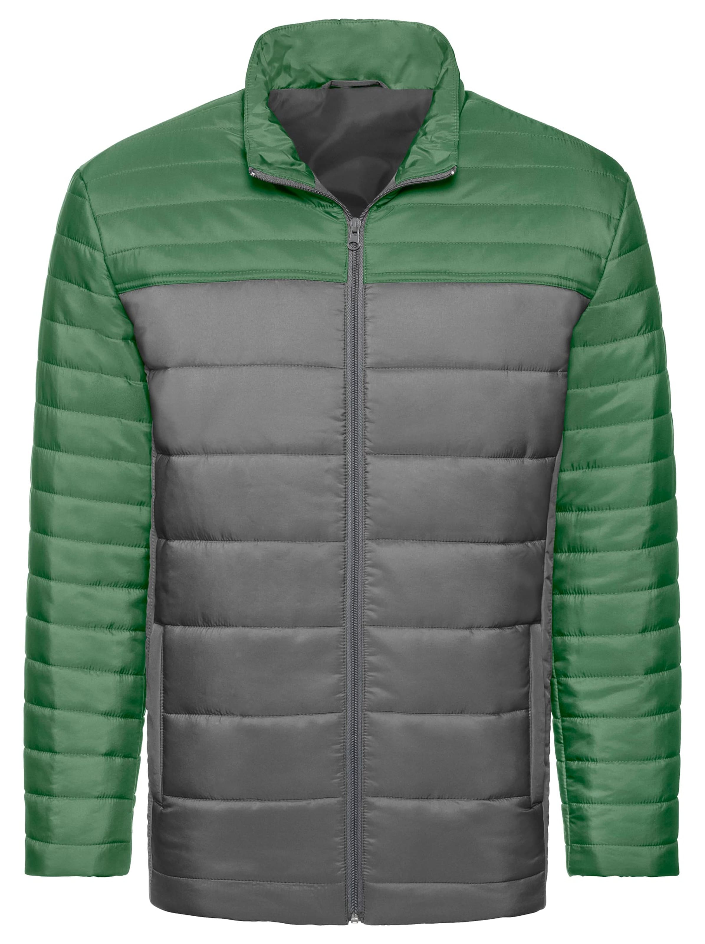 witt weiden - Herren Jacke grün-silberfarben