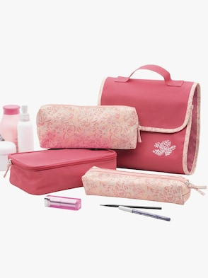 Kosmetiktasche - rosa