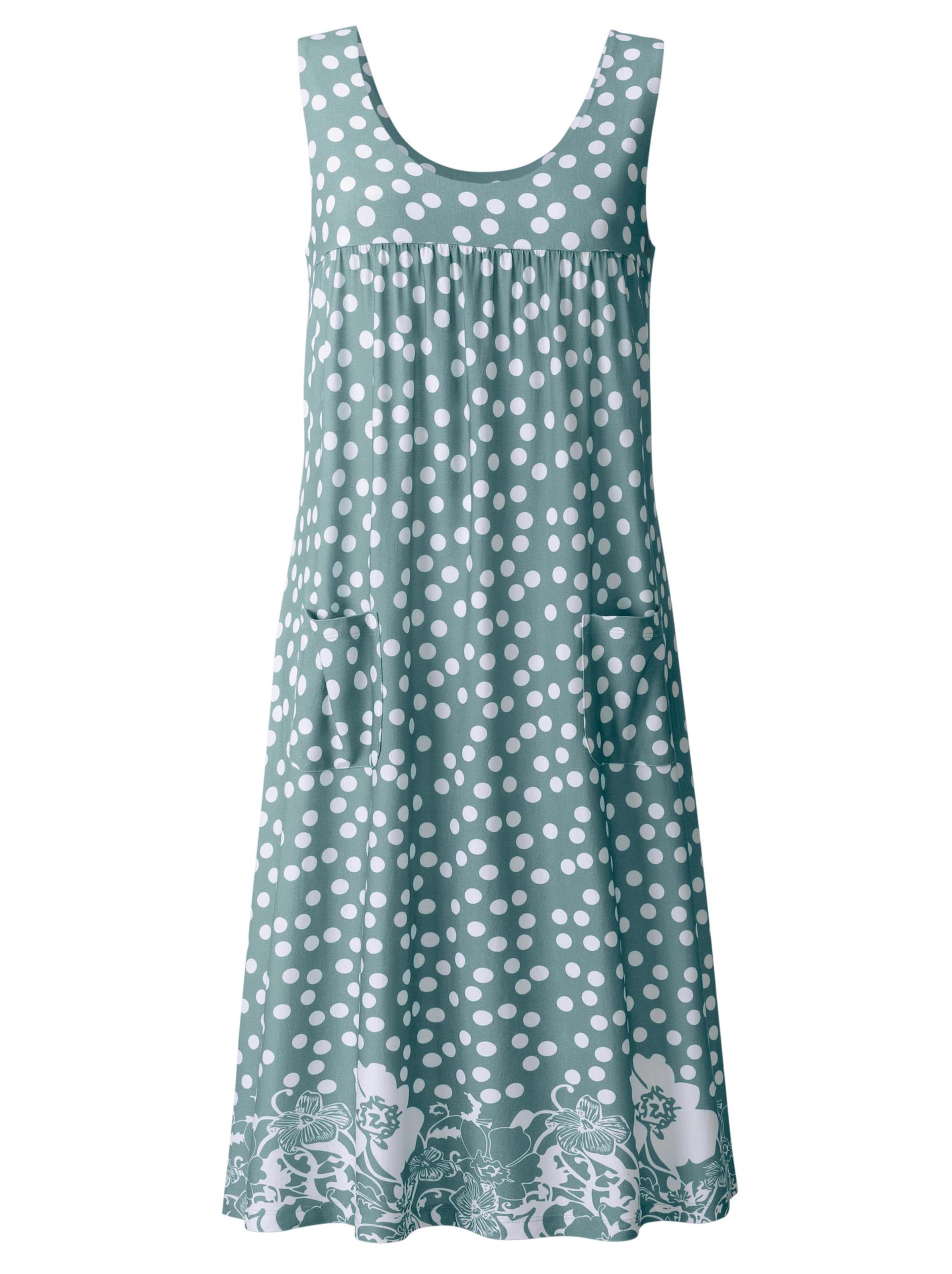 witt weiden -  Damen Tunika-Kleid jade-gemustert