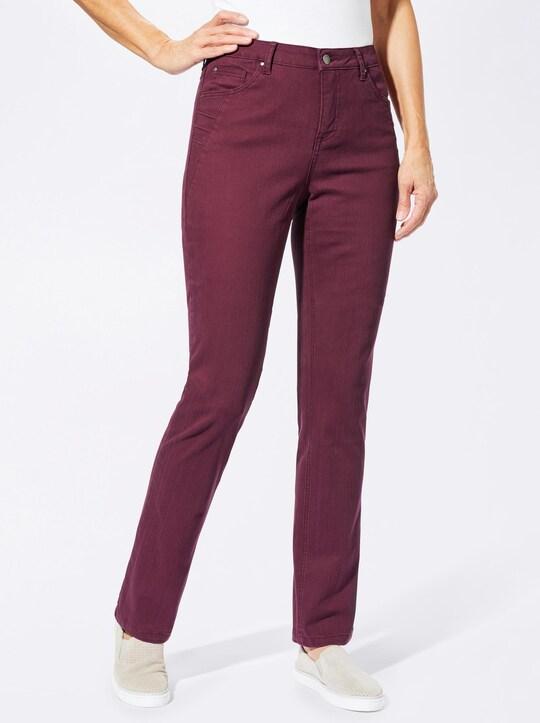 Collection L Jeans - bordeaux