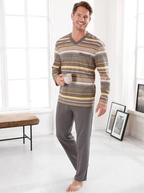 Schlafanzug - taupe-beige