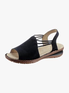 Sandalette - dunkelblau