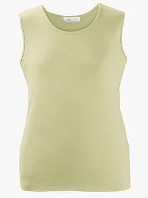 Shirttop - lindgrün
