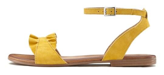 LASCANA Sandale - gelb