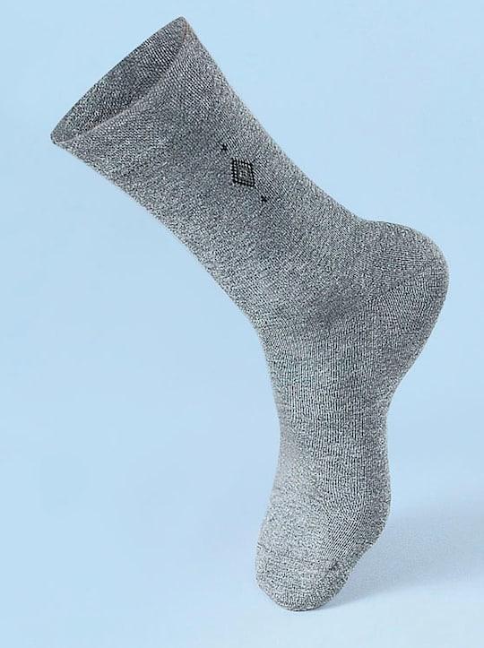 Rogo Herren-Socken - hellgrau
