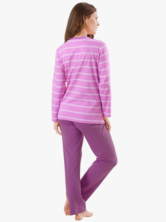Ringella Schlafanzug - rosenholz-bedruckt