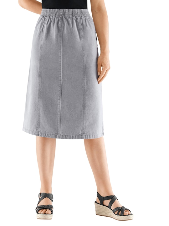 Jeans-Rock - grey-denim