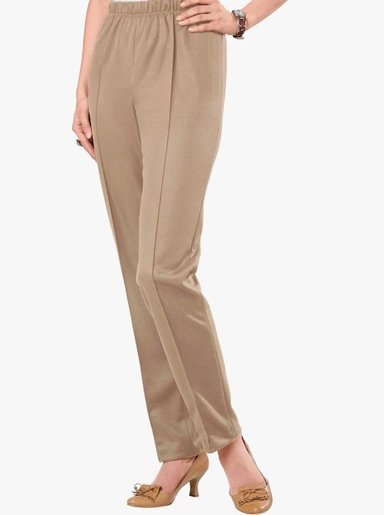 Kalhoty - béžová