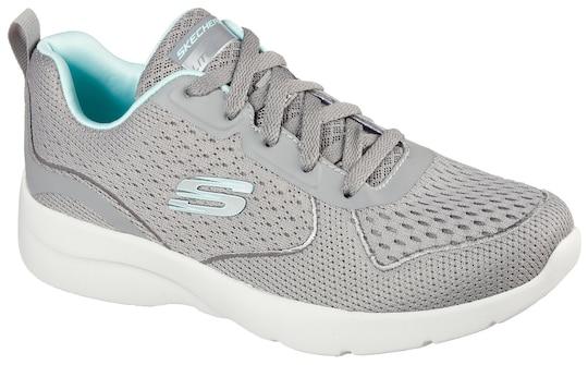 Skechers Sneaker - Grijs/mint