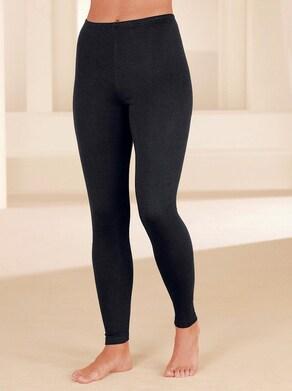 wäschepur Hose lang - schwarz