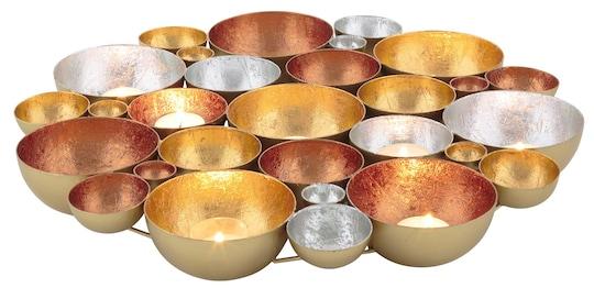 dio Only for You. Teelichthalter - goldfarben-silberfarben-kupferfarben