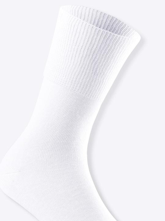 wäschepur Socken - weiß