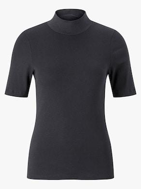 Blazershirt - schwarz