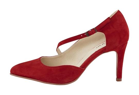 heine pumps - rood