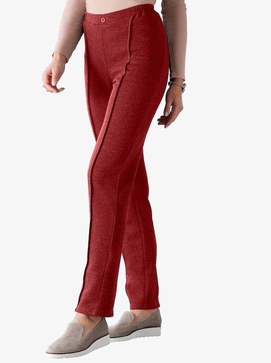 Kalhoty - bordó