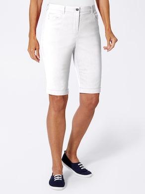 Stehmann Comfort line Bermuda - weiß