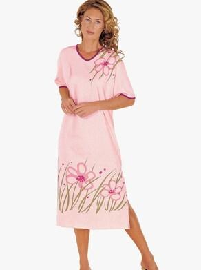 Top Ten Nachthemd - roze geprint
