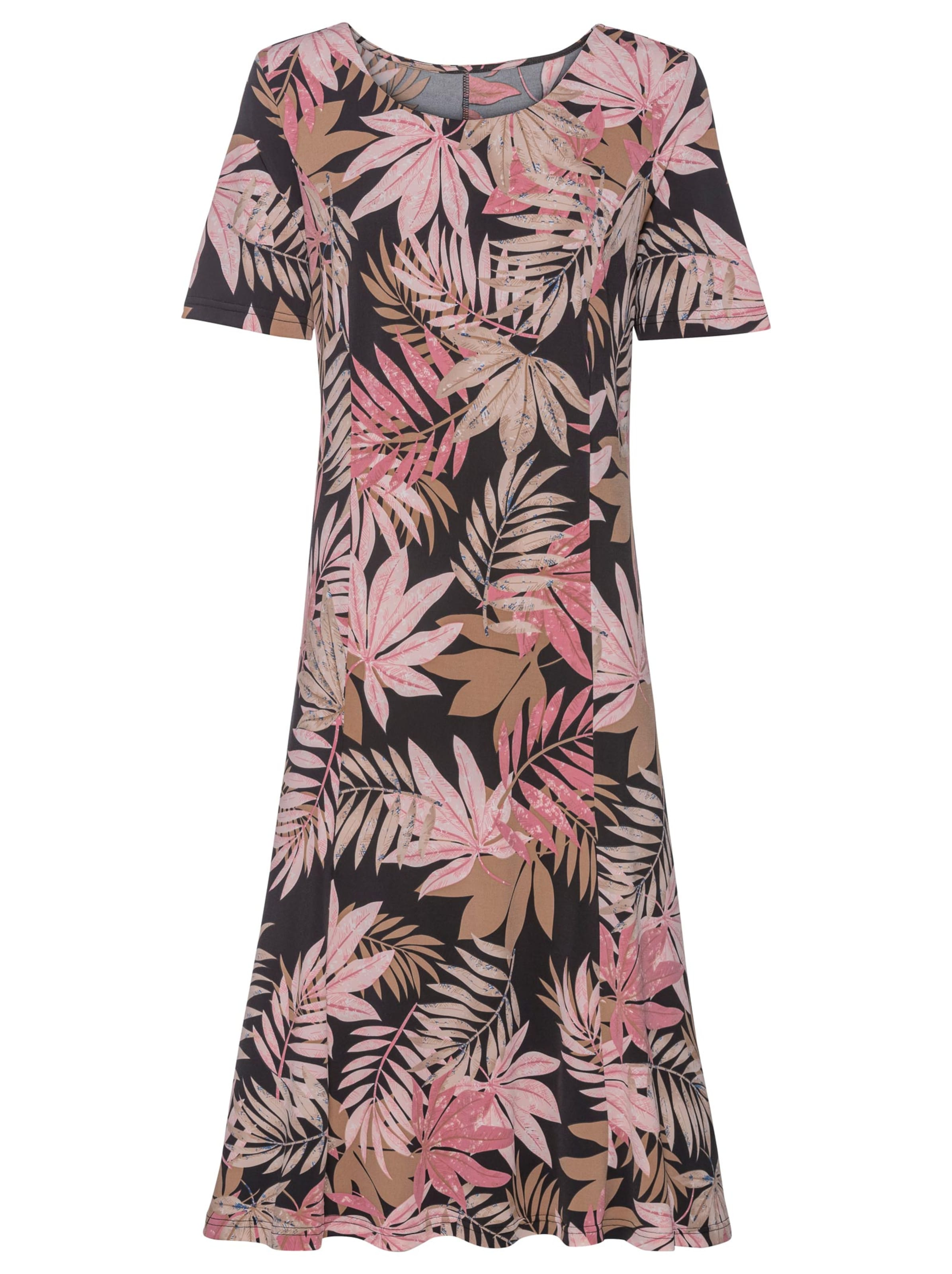 witt weiden -  Damen Jersey-Kleid puder-sesam-bedruckt