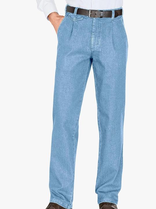 Džíny - bělená modrá