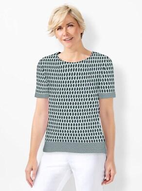 Shirt - kalkmint-marine