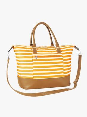 Tasche - gelb-gestreift