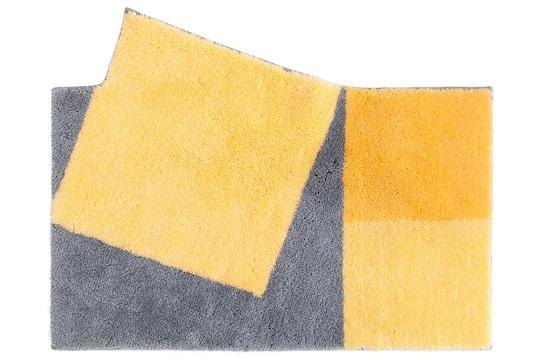 Grund Badgarnitur - gelb-grau