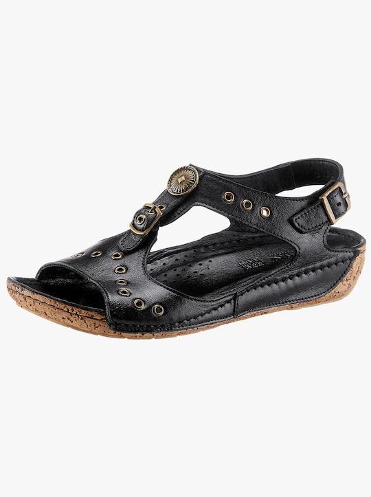 Gemini Sandalette - schwarz