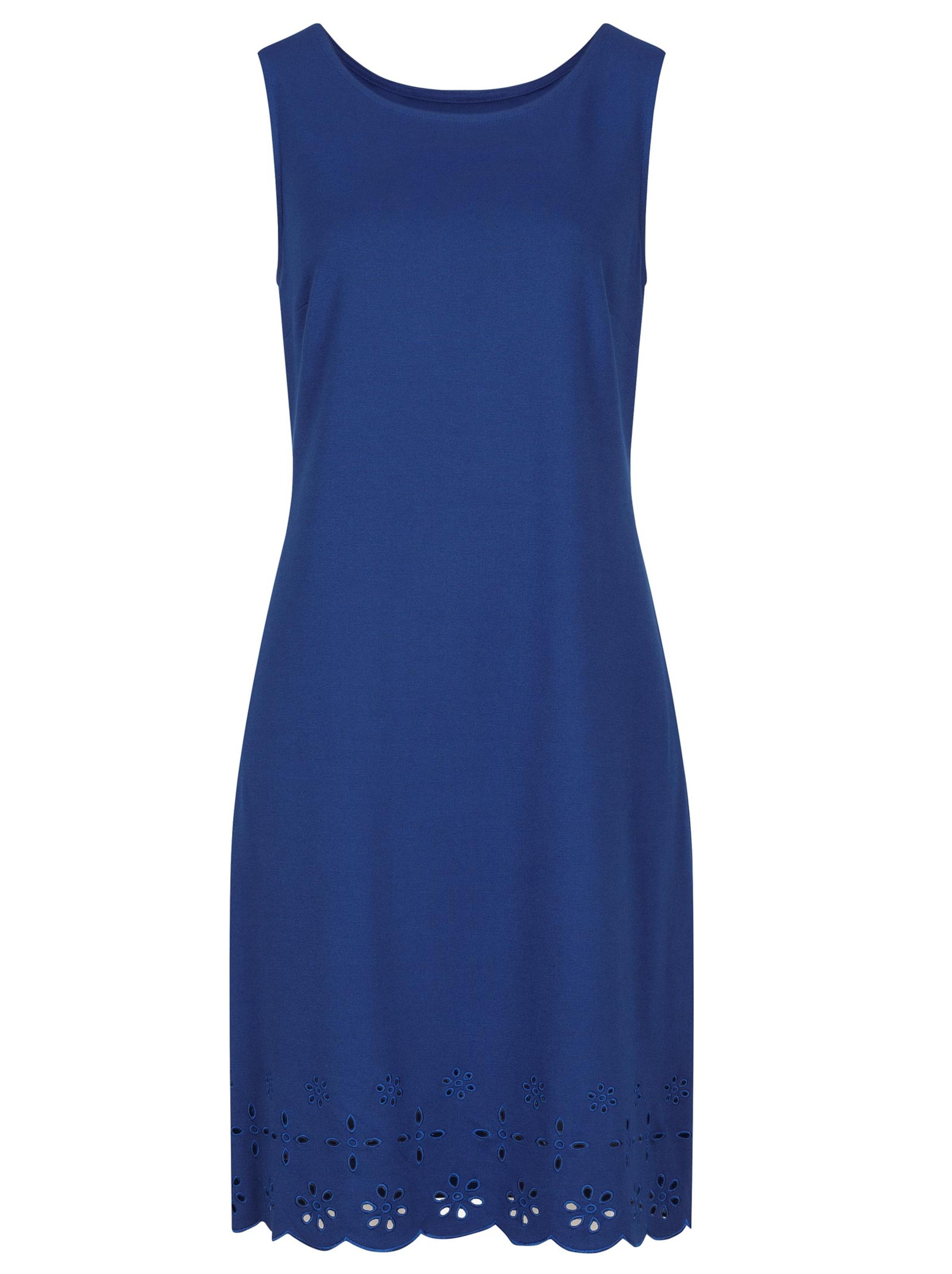 witt weiden -  Damen Jersey-Kleid royalblau