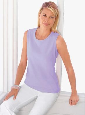 Shirttop - lavendel