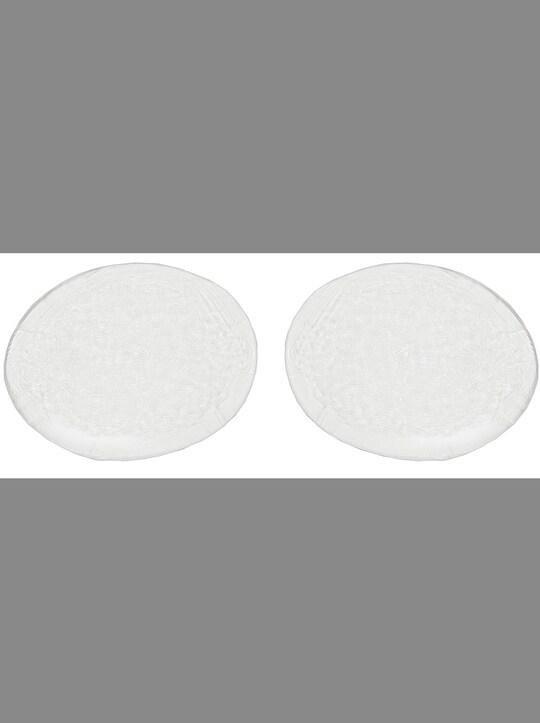 Silikon-BH-Einlagen - transparent