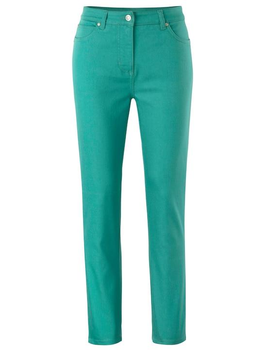 7/8-Jeans - smaragd