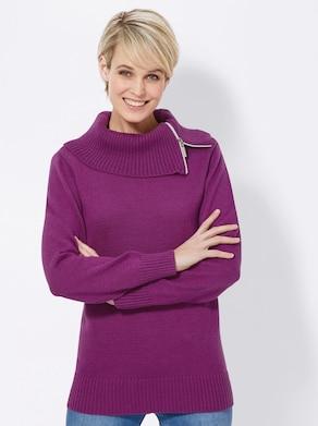 Collection L Pullover - fuchsia