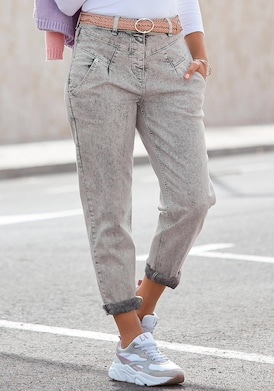 LASCANA Mom-Jeans - grey-moonwashed