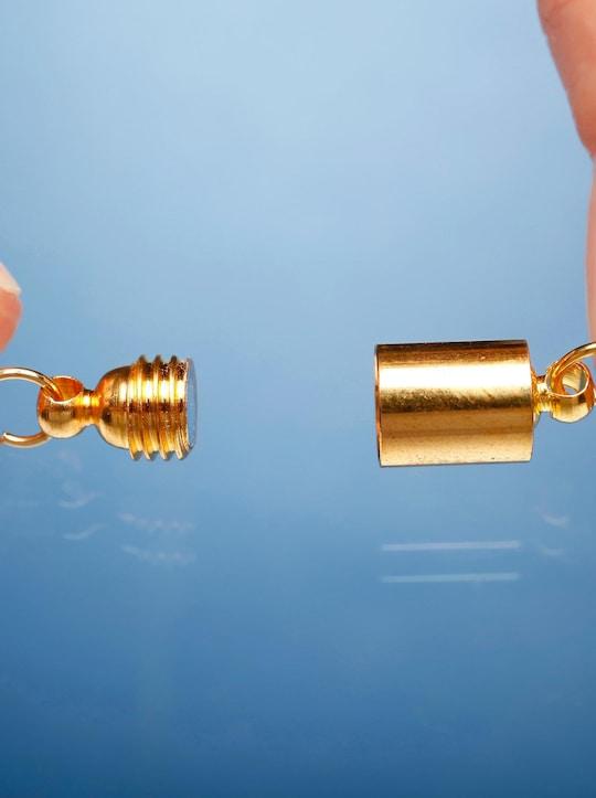 Magnetischer Kettenverschluss - goldfarben