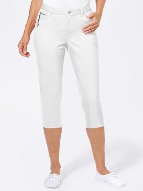 Collection L Capri-legging - wit