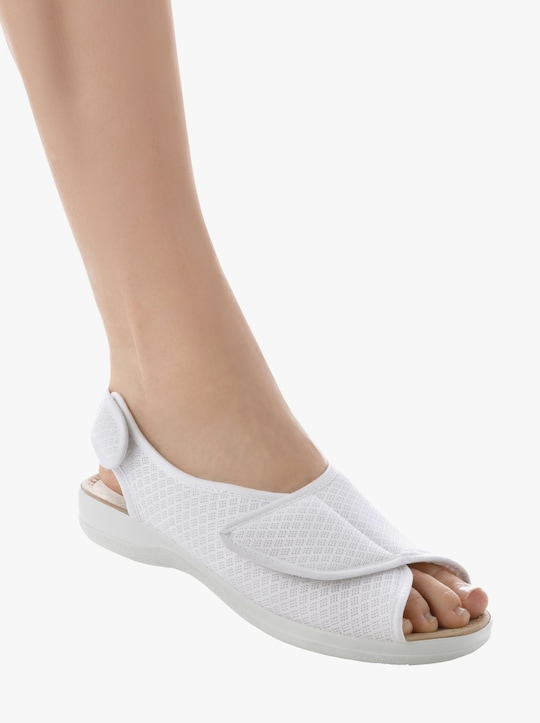 Sandale - weiß