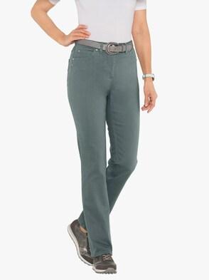 Jeans - wintertürkis