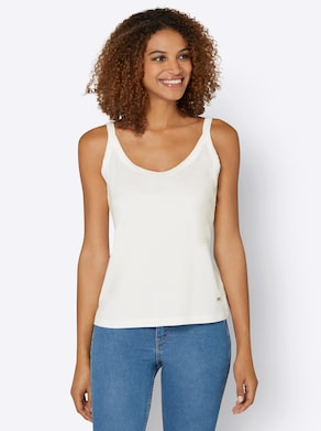 Collection L Shirttop - ecru