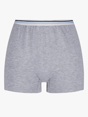 Pants - grau-meliert