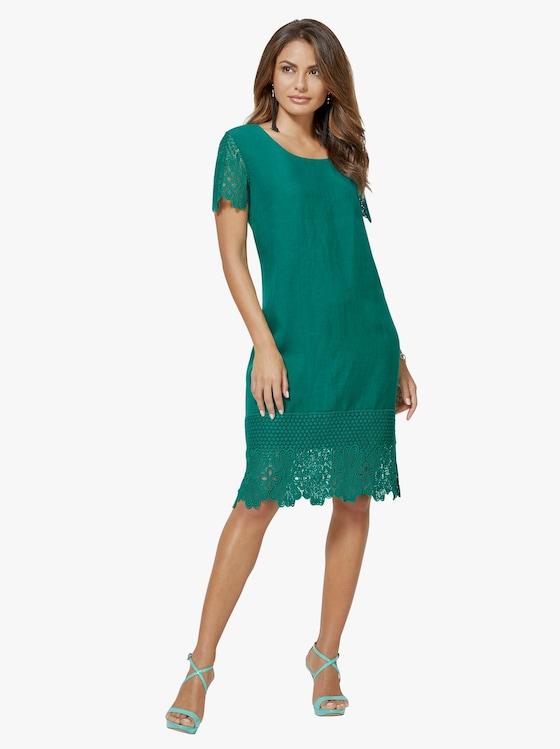 Kleid - smaragdgrün