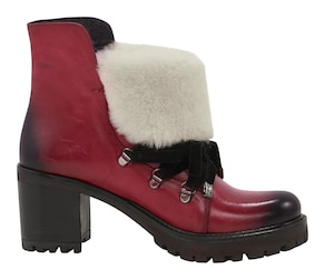 Stiefelette - rot