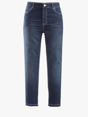 Collection L 7/8-Jeans - blue-stone-washed