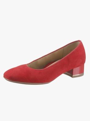 pumps - rood