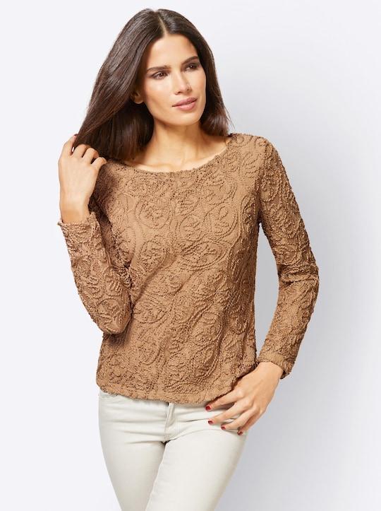 Ashley Brooke Shirt - camel