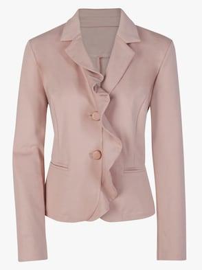 Jersey-Blazer - rosé