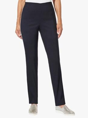Stehmann Comfort line Pohodlné kalhoty - námořnická modrá-bílá