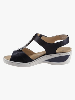 Sandalette - nachtblau