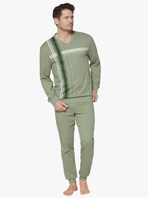 Schlafanzug - khaki