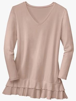 Lang shirt - beige