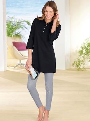 Longshirt - schwarz